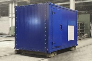 Вид сбоку двери для кузов-фургона Kron Investment Group-МД-02