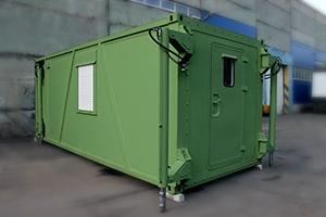 Фото кузов-контейнера постоянного объема Kron Investment Group-КК-01 общий вид