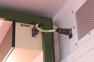 Фото подключения электроснабжения жилого модуля