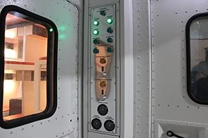 Фотография панели управления кузов-фургона ПОЖ-КФ