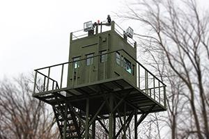 Фото защитного ограждения наблюдательной кабины