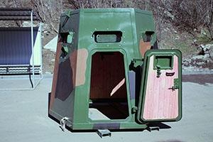 Металлическая дверь защитного сооружения
