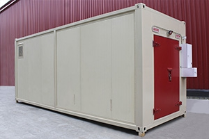 Фото металлического контейнера для ЛВЖ