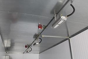 Cистемы пожаротушения в контейнере