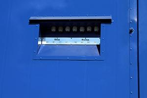 Вводная панели контейнера с ДГУ