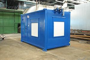Фотография контейнера для ДГУ 200 кВт