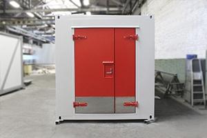 Металлическая входная дверь блок контейнера