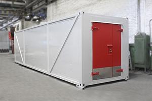 Фото блок контейнера для хранения ЛВЖ