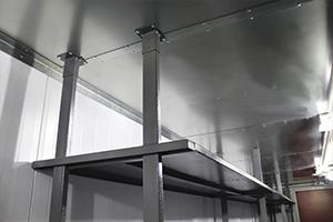 Фото потолка контейнера из нержавеющей стали