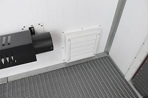 Фото металлической воздушно-клапанной решетки