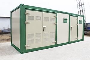 Фото общего вида контейнера для трансформатора