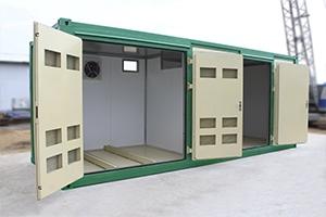 Фото контейнера для трансформатора в открытом виде