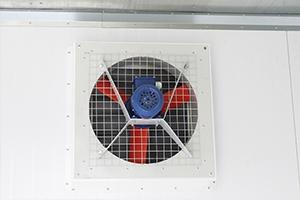 Вентиляция в контейнере для трансформатора