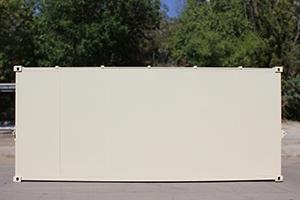 Фотография металлического контейнера КХО вид сбоку