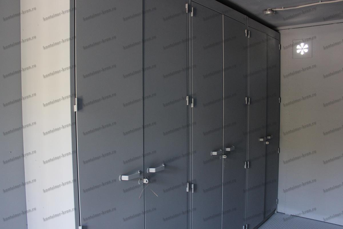 Комната для хранения оружия внутри