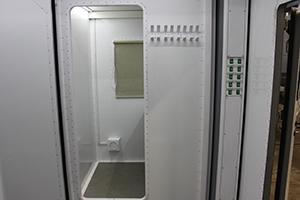 Металлический коридор контейнера ПОЖ