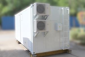 Фото металлического термоизолированного контейнера