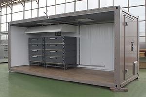 Фото модульной мобильной полевой кухни 6 метров