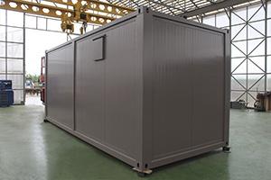 Фото модульной мобильной полевой кухни 6000х5000х2590
