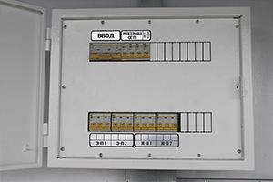 Металлический щит управления сетью модульных контейнеров