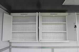 Металлические шкафы в открытом виде фото