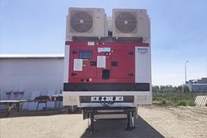 Фото дизельного генератора установленного в медицинский комплекс