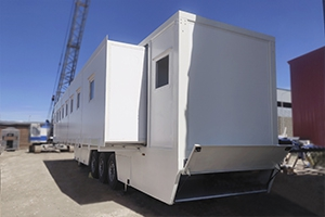 Фото раздвижного медицинского контейнера в открытом виде