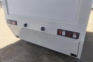 Фото отсека для размещения оборудования в медицинский контейнер