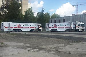 Фотографии передвижных доступных комплексов для медпомощи