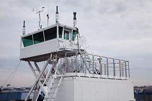 Фотография мобильной наблюдательной вышки КРОН