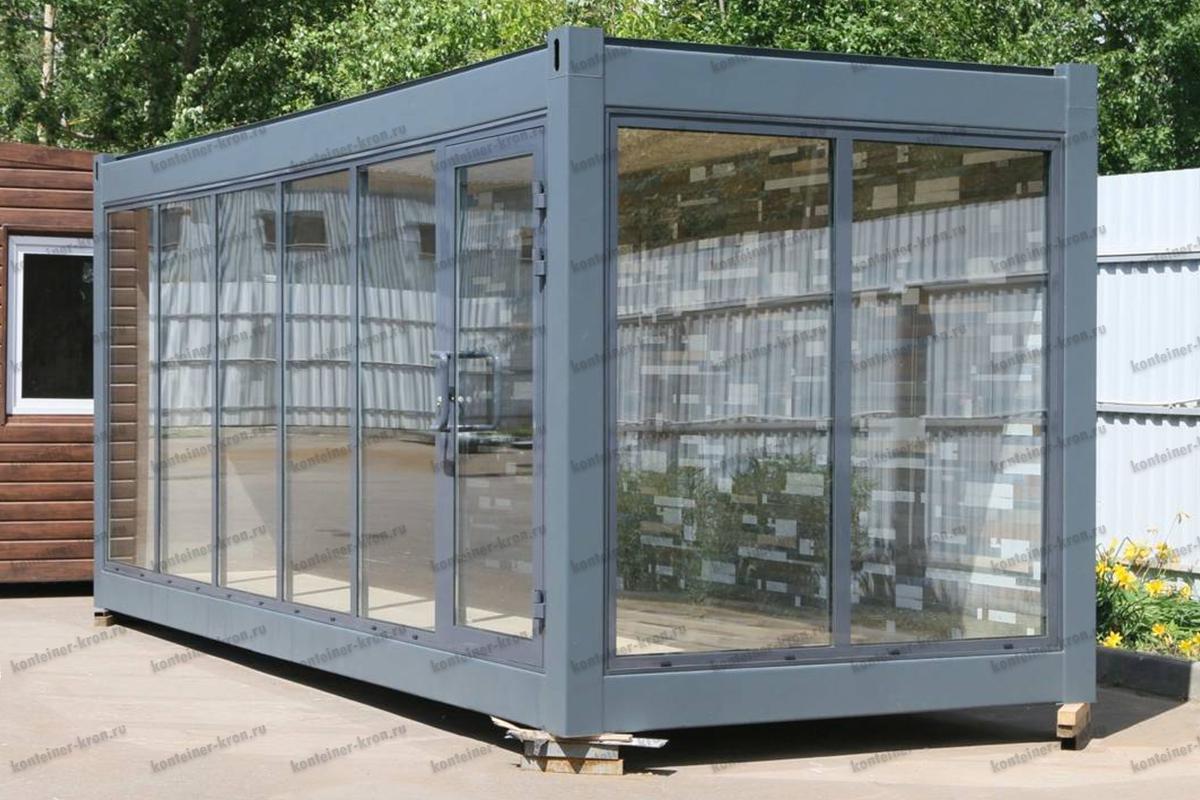 Фото смотрового контейнера с панорамой