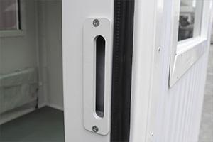 Фотография вентиляционной решетки бронированного КПП