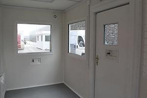 Фото внутренней отделки контрольно-пропускного пункта