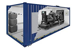 Фото оснащения блок-контейнера для дизельных электростанций