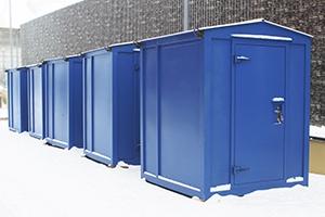 Фото блок-контейнера 2 метрового для системы накопления электроэнергии