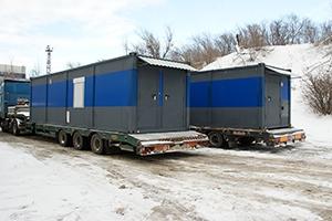 Фото перевозки блок контейнеров автомобильным транспортом