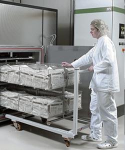 Фото стерилизационного кабинета в контейнере