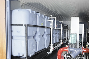 Водогазовое оборудование в контейнере фото