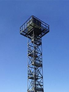 Фотографии 20-ти метровой наблюдательной вышки