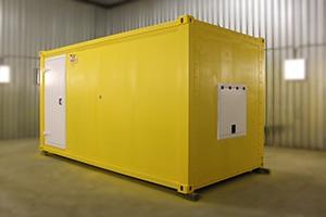 Утепление блок-контейнера