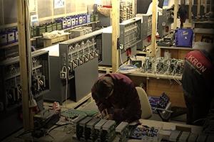 Производство компании КРОН