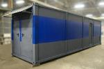 Фотографии зарядного модуля аккумуляторной мастерской на базе 9-ти метрового контейнера