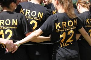День рождения компании Kron Investment Group - веревочный курс, конкурс спираль