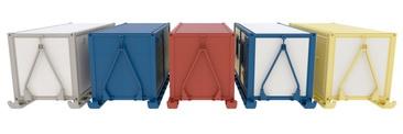 Разнообразные цветовые решения блок-контейнеров