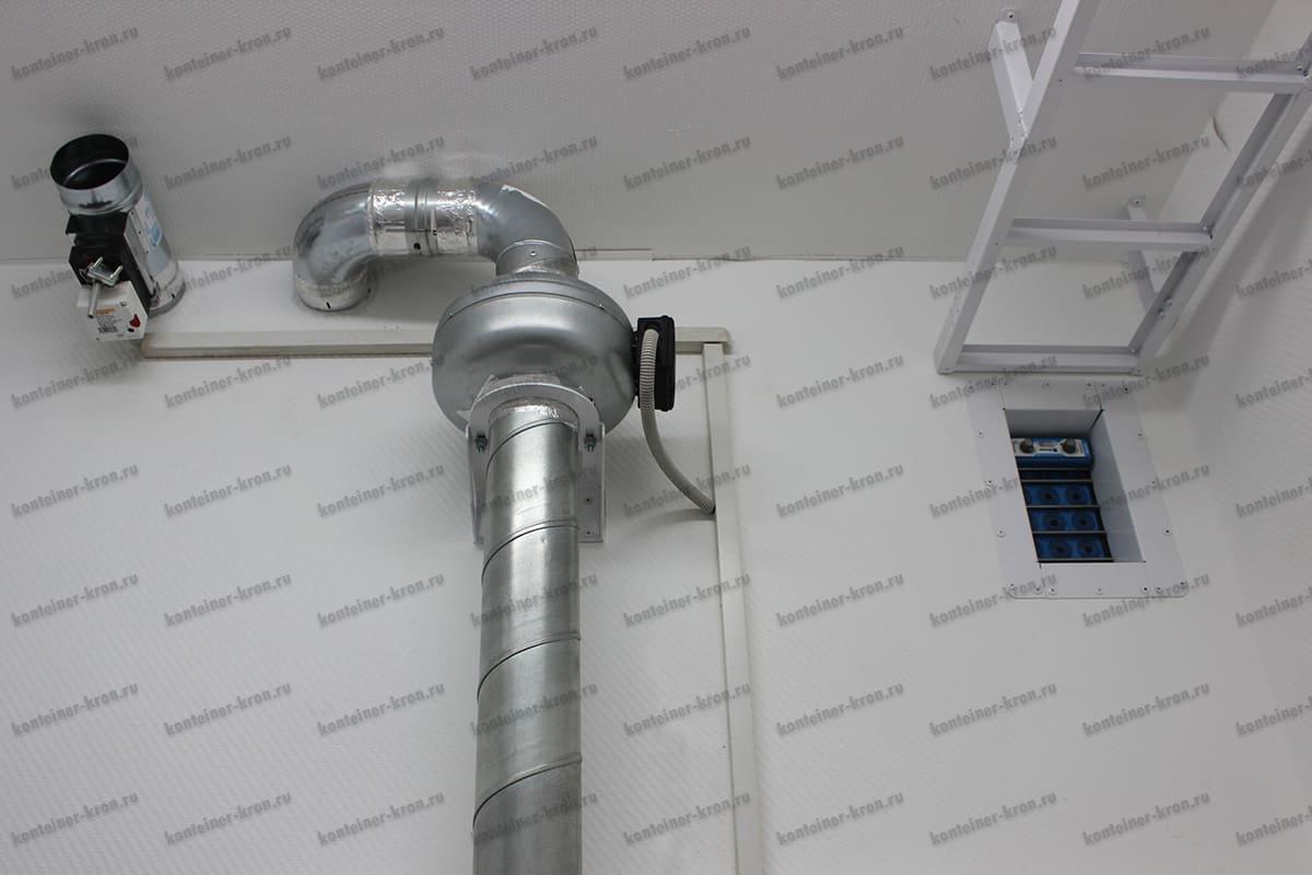 Система приточной-вытяжной вентиляции