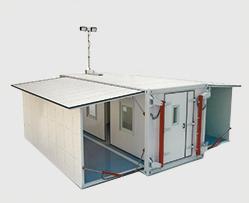 Этапы развертывания медицинского контейнера фото
