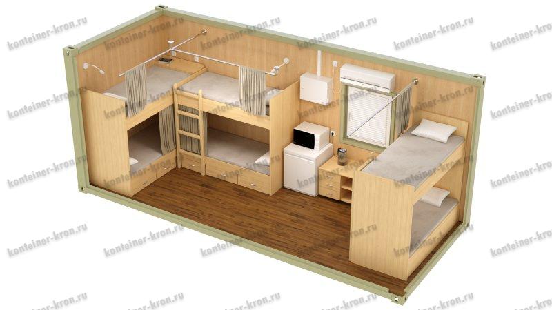Картинка жилого блок-контейнера 2