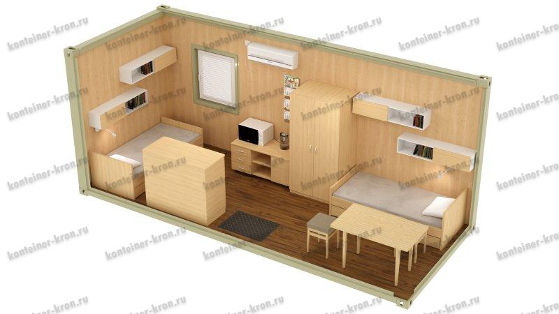 Картинка жилого блок-контейнера 1