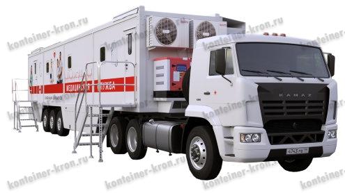Медицинский рефрижератор кузов контейнер