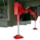 Автоматическая система вывешивания и горизонтирования
